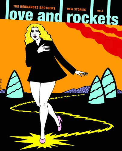 Love and Rockets: New Stories, No. 2 (160699168X) by Gilbert Hernandez; Jaime Hernandez; Mario Hernandez