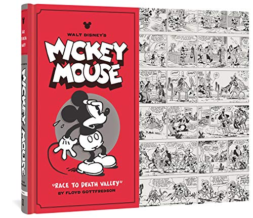 WALT DISNEYS MICKEY MOUSE HC VOL 1: RACE TO DEATH VALLEY (9781606994412) by Floyd Gottfredson