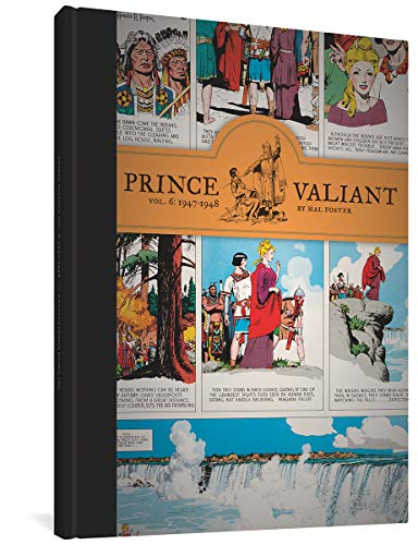 Prince Valiant Vol.6: 1947-1948 (Hardcover): Hal Foster
