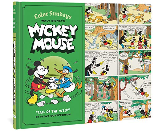 9781606996430: Walt Disney's Mickey Mouse Color Sundays, Volume 1: Call of the Wild