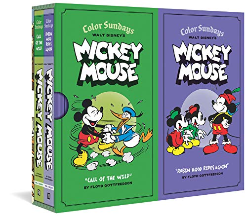 9781606996874: Walt Disney's Mickey Mouse Color Sundays Gift Box Set (Vol. Vols. 1 & 2) (Walt Disney's Mickey Mouse)