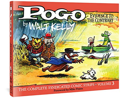 Pogo Vol. 3: Evidence to the Contrary (Hardcover): Walt Kelly