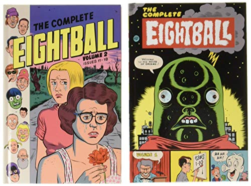 The Complete Eightball 1-18 (Hardcover): Daniel Clowes