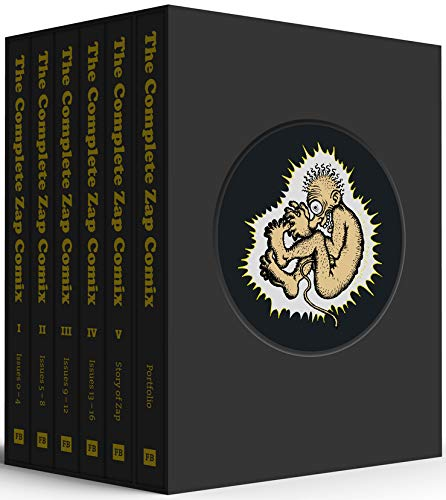 The Complete Zap Comix: 6 Volume Boxed Set with Slipcase