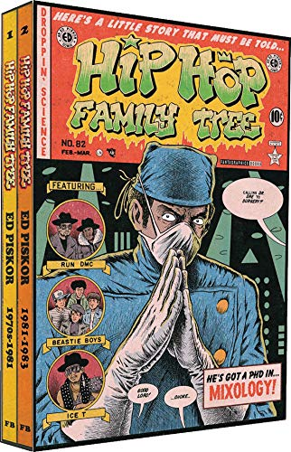 Hip Hop Family Tree, Vol.1-2 + additional Comic Book, English edition. Vol.1+2: Ed Piskor