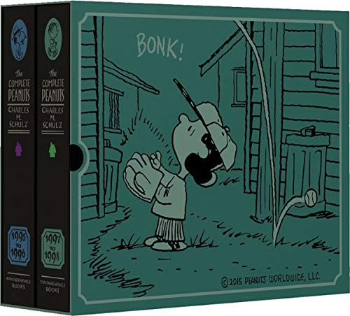 The Complete Peanuts 1995-1998 Gift Box Set (Hardcover): Charles M. Schulz