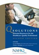 9781607022589: Q Solutions: Essential Resources for the Healthcare Quality Professional