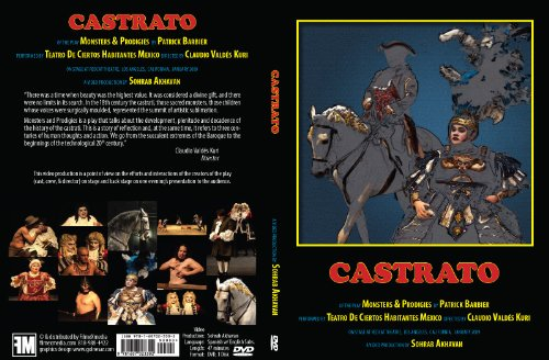 9781607023302: Castrato (of the play Monsters and Prodigies by Patrick Barbier)
