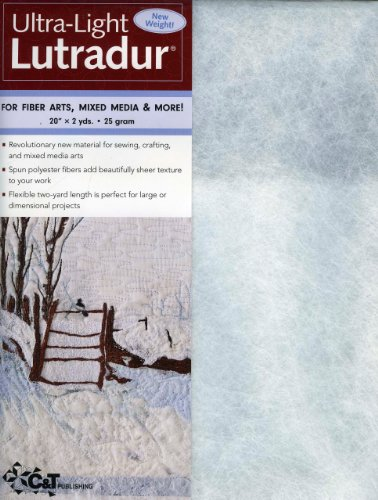 9781607052593: C&T Publishing Lutradur Ultra-Light, 20 by 2-Yard