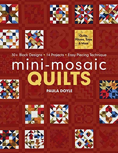 9781607053613: Mini-Mosaic Quilts: 30+ Block Designs · 14 Projects · Easy Piecing Technique