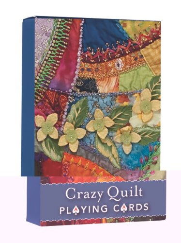 9781607055112: Crazy Quilt Playing Cards Display