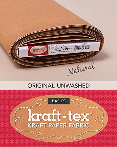 9781607057581: kraft*tex (TM) Bolt 19 x 10 Yards Natural: Kraft Paper Fabric (Kraft-Tex Basics)