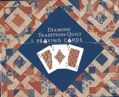 9781607058199: Diamond Traditions Quilt Playing Cards Display: Point of Purchase carton with 12 Decks