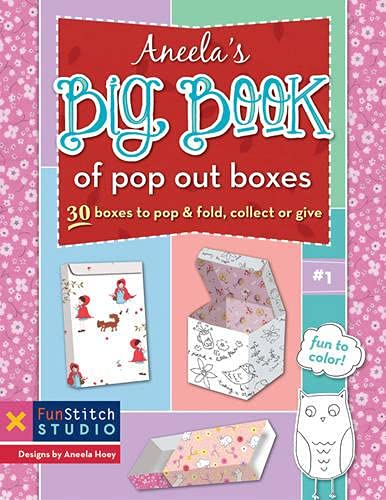 9781607058342: Aneela's Big Book of Pop Out Boxes: 30 Boxes to Pop & Fold, Collect or Give