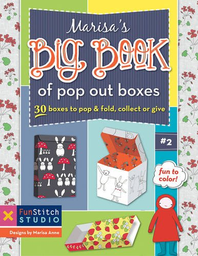 9781607058359: Marisa's Big Book of Pop Out Boxes: 30 Boxes to Pop & Fold, Collect or Give