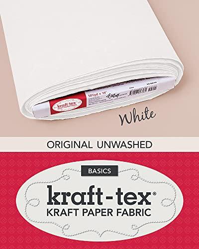 KRAFT-TEX(t) Bolt 19 x 10.5 Yards White: Kraft Paper Fabric: Ct Publishing