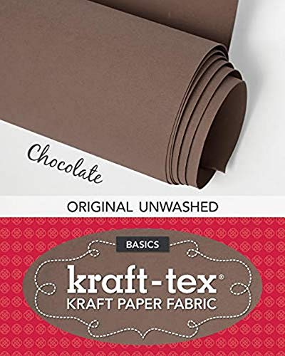 Kraft-tex Roll, Chocolate: Kraft Paper Fabric