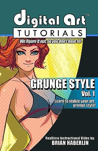 9781607064176: DIGITAL ART TUTORIALS GRUNGE/POP STYLE CDROM 01