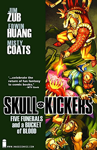 Skullkickers, Vol. 2: Five Funerals and a Bucket of Blood (1607064421) by Zub, Jim; Sims, Chris; Clevinger, Brian; Fawkes, Ray