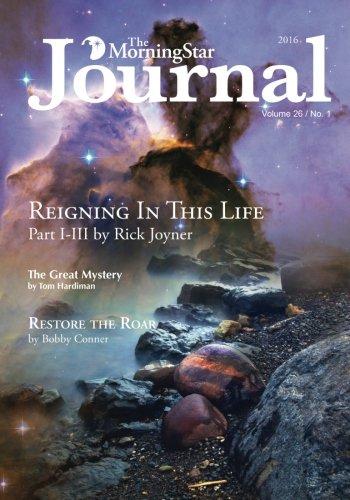 9781607086444: The MorningStar Journal Volume 26 Number 1 Full-Color