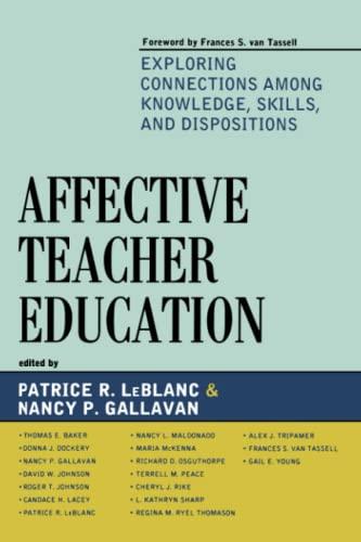 Affective Teacher Education: Patrice R. LeBlanc