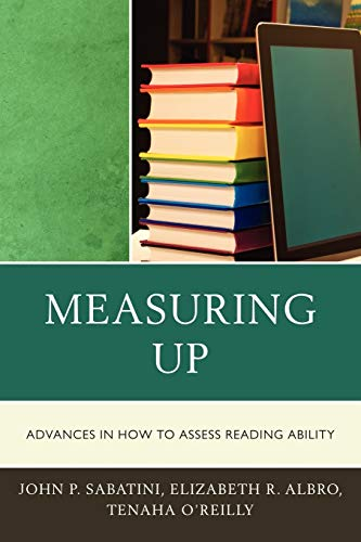 9781607094869: Measuring Up: Advances in How We Assess Reading Ability