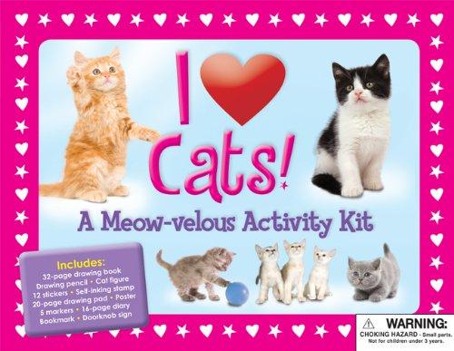 I Love Cats: A Meow-velous Activity Kit (I Love Pets): Diana Fisher