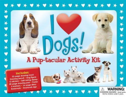 9781607101062: I Love Dogs: A Pup-tacular Activity Kit (I Love Pets)
