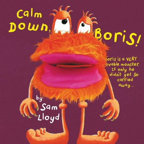 9781607101895: Calm Down, Boris! (Puppet Pop Ups)