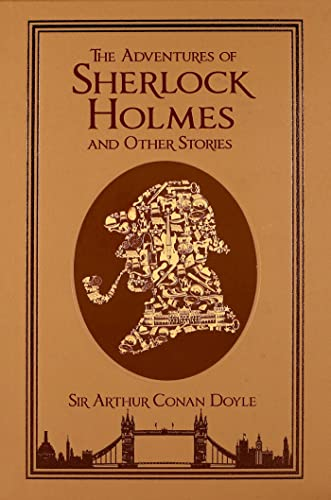 The Adventures of Sherlock Holmes and Other Stories (Leatherbound Classics)