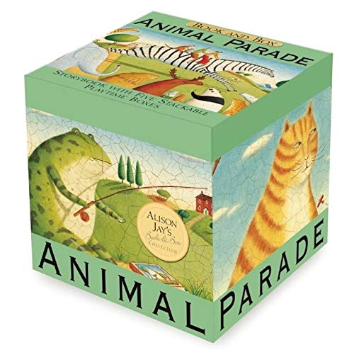 9781607102588: Animal Parade (Book and Stacking Boxes)