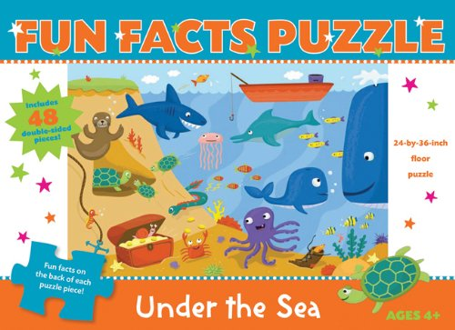 9781607102960: Fun Facts Puzzle: Under the Sea (Fun Facts Puzzles)