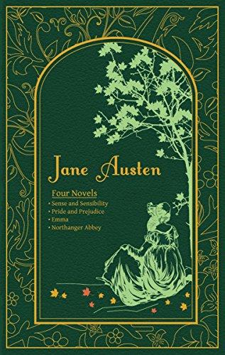 9781607103110: Jane Austen: Four Novels (Leather-bound Classics)