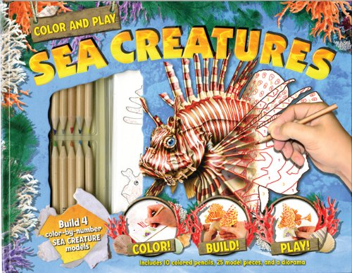9781607103790: Color and Play: Sea Creatures