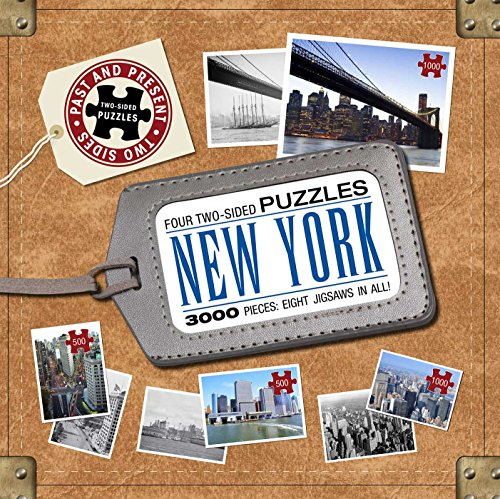 New York City: Past to Present Puzzles: Four Two-Sided Puzzles (Past to Present Double-Sided Puzzles) (1607104474) by Dominic Couzens