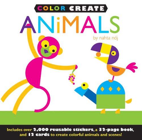 9781607104933: Color Create: Animals