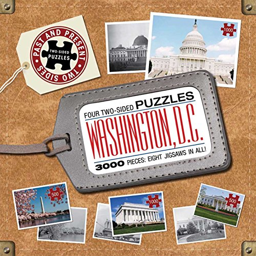 Washington D.C.: Past to Present Puzzles: Catherine Nichols,Not Available (Na),Editors Of Thunder ...