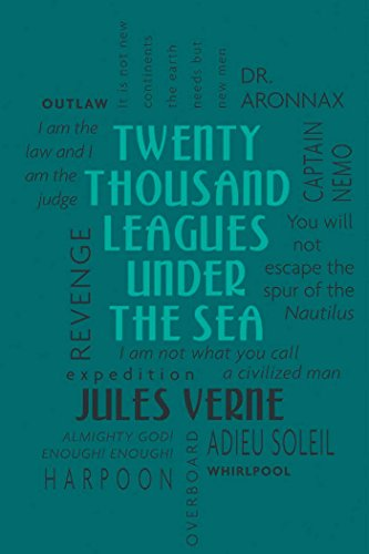 9781607105497: Twenty Thousand Leagues Under the Sea (Word Cloud Classics)
