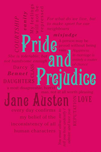 9781607105541: Pride and Prejudice (Word Cloud Classics)