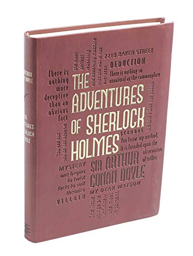 9781607105565: Adventures of Sherlock Holmes (Word Cloud Classics)