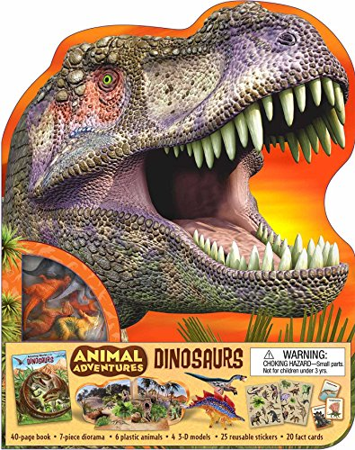 9781607107224: Animal Adventures: Dinosaurs