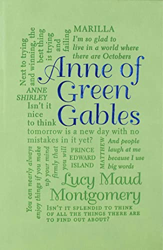 Anne of Green Gables (Word Cloud Classics)