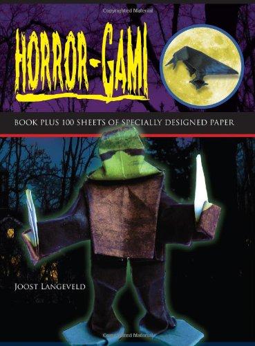 Horror-Gami (Origami Books): Langeveld, Joost