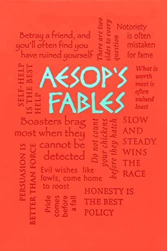 9781607109471: Aesop's Fables (Word Cloud Classics)