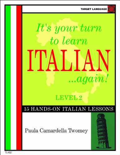9781607130253: It's your turn to learn Italian...again! Level 2 (Italian Edition)