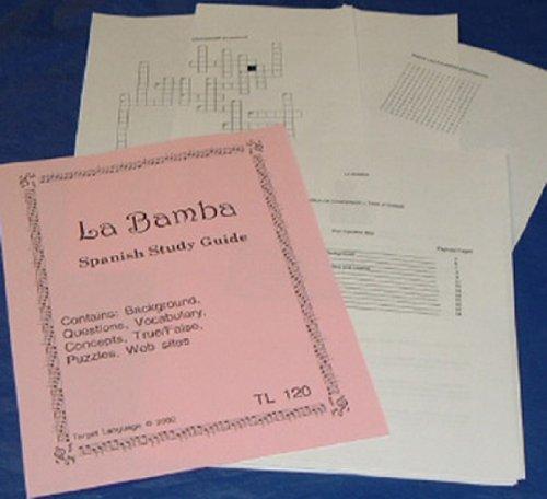 9781607130451: La Bamba-Spanish Study Guide to accompany the Feature Film