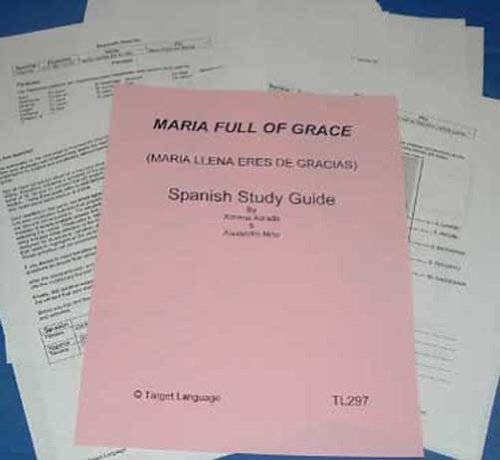 9781607130697: Maria Full of Grace-Spanish Study Guide to accompany the Feature Film