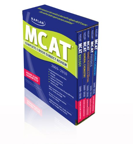 9781607140467: MCAT Complete Subject Review 2009-2010