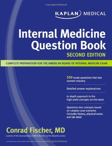9781607141266: Kaplan Medical Internal Medicine Question Book