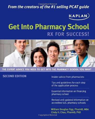 9781607144779: Get Into Pharmacy School: Rx for Success!